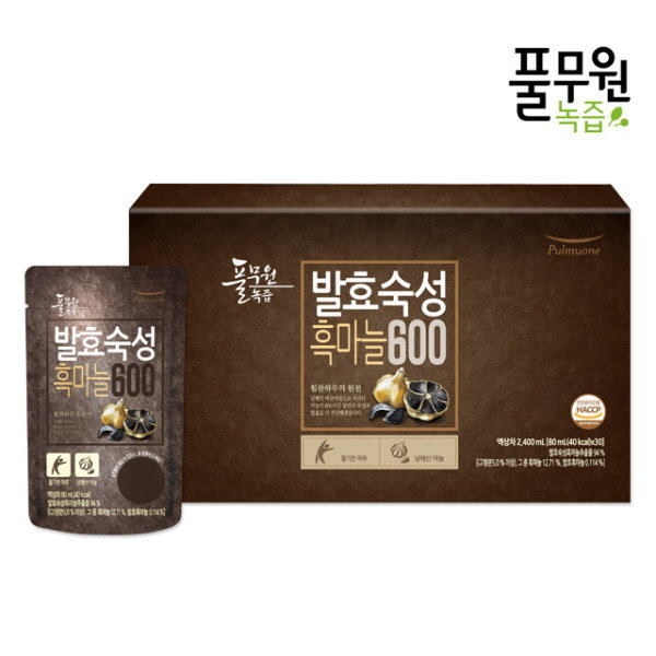 [풀무원] 발효숙성흑마늘600 (30포)